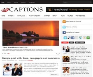 Captions-Blogger-Template