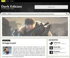 Dark-Edition-Blogger-Template