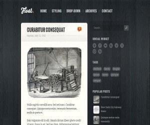 Float Blogger Template