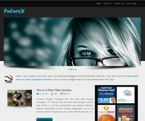 Future-X-Blogger-Template