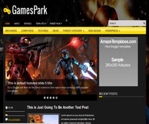 GamesPark Blogger Template
