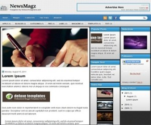 NewsMagz-Blogger-Template