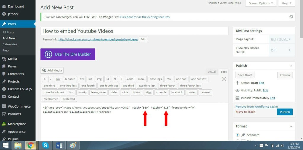 Simple youtube embed 7