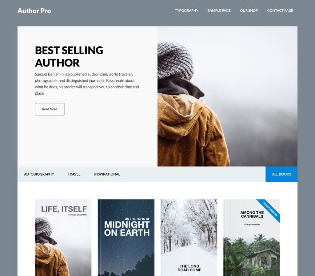 Author Pro Theme