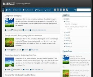bluebuzz-blogger-template