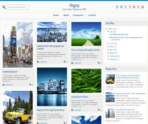 Pingrey Blogger Template